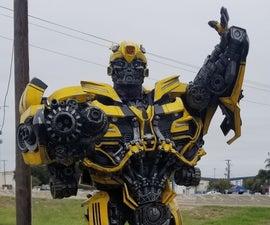 Creating a Transformer Costume
