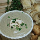 Creamy Cashew Mushroom Soup (Vegan)