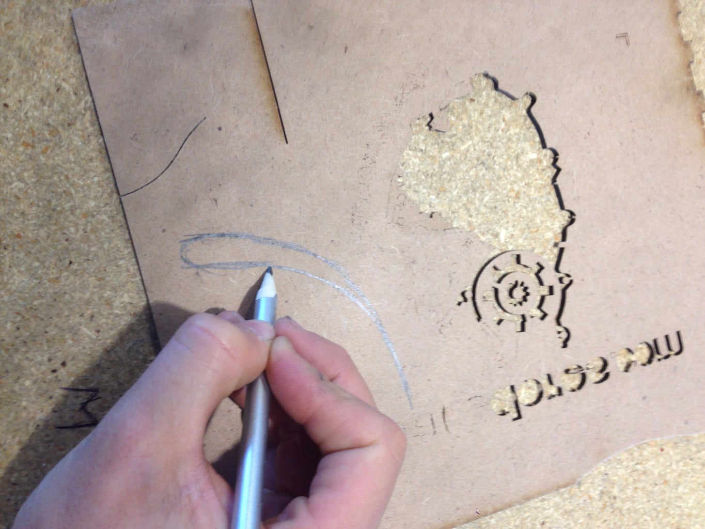 Cutting Out Rear Wheel Blocker