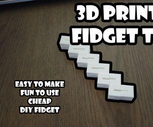 3D Printed Fidget Toy