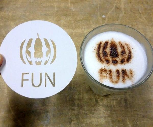 Latte Art Stencil
