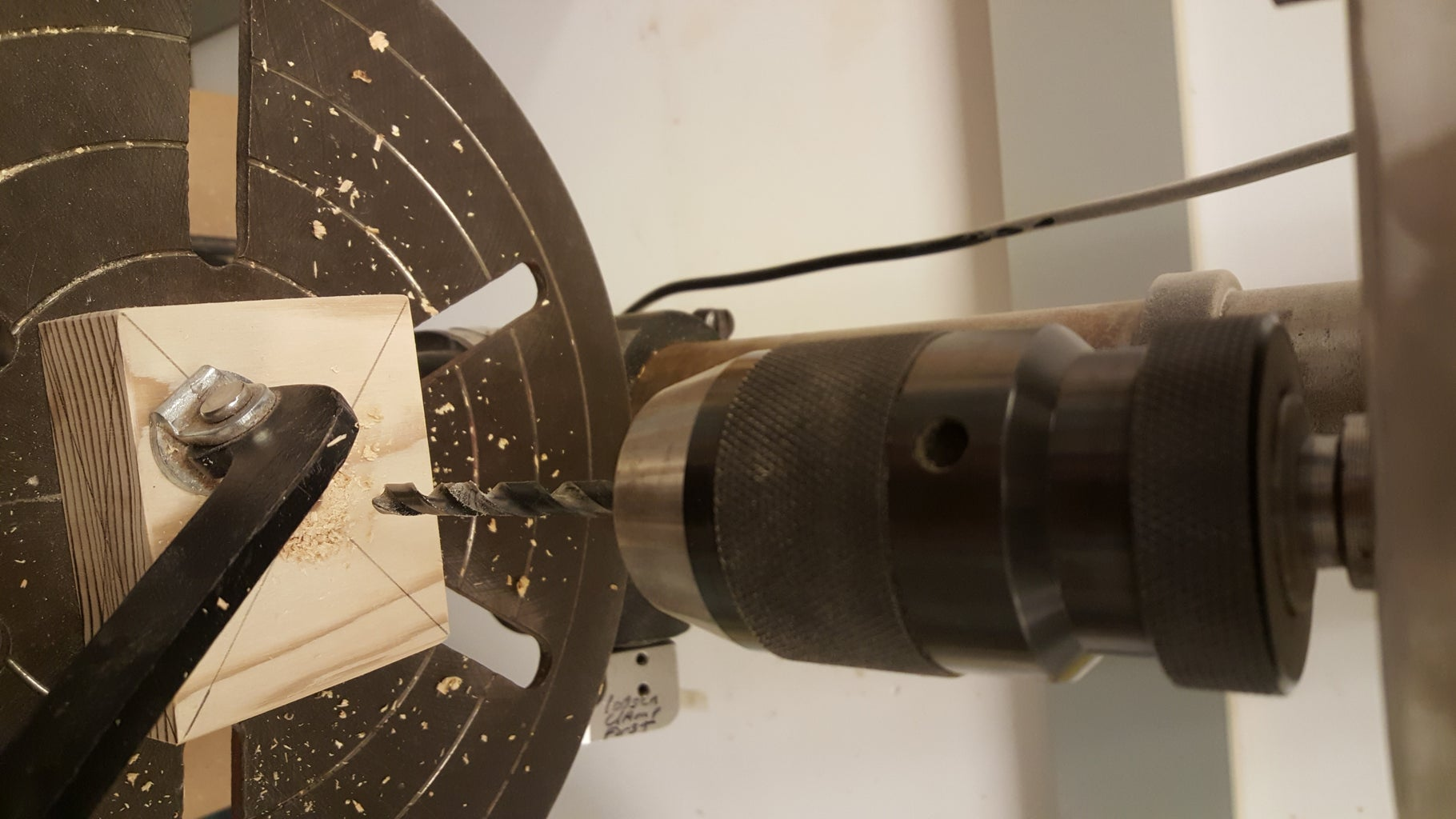 Shaft Block: Drill Shaft Hole and Pin Hole