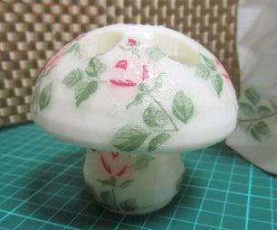 Decoupage a 3D Print Object