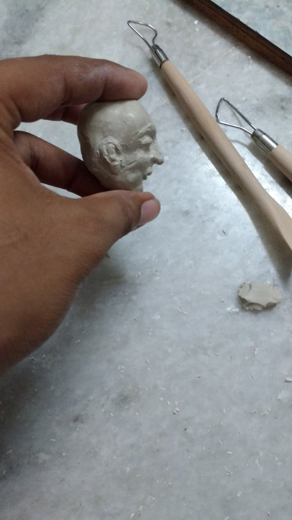 Step-1: Sculpting the Face