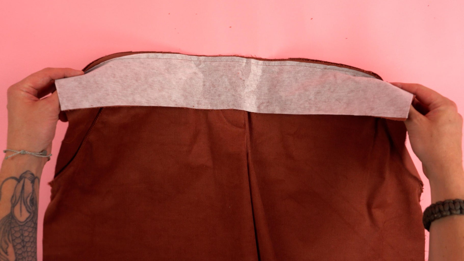 Waistband Front Panel