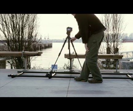 Video tripod floor dolly to tripod track dolly conversion – using ABS pipe
