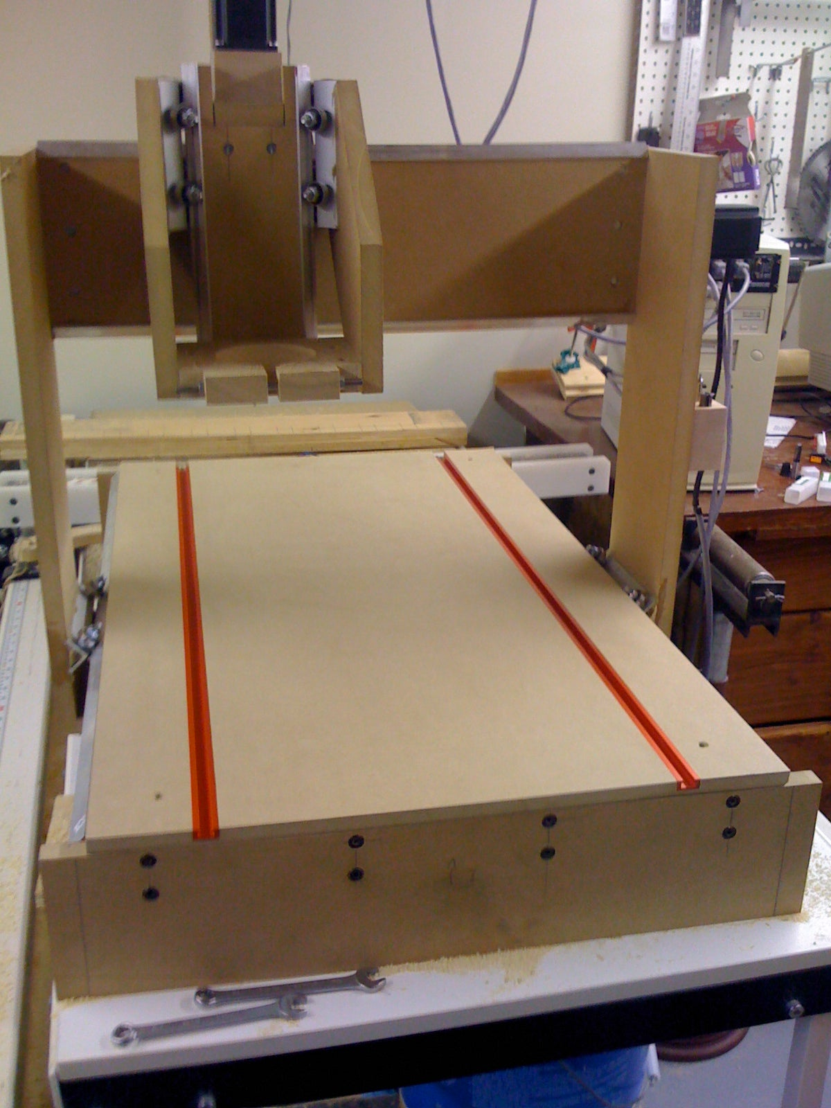 DIY MDF CNC Machine 40x40  40 Steps with Pictures   Instructables