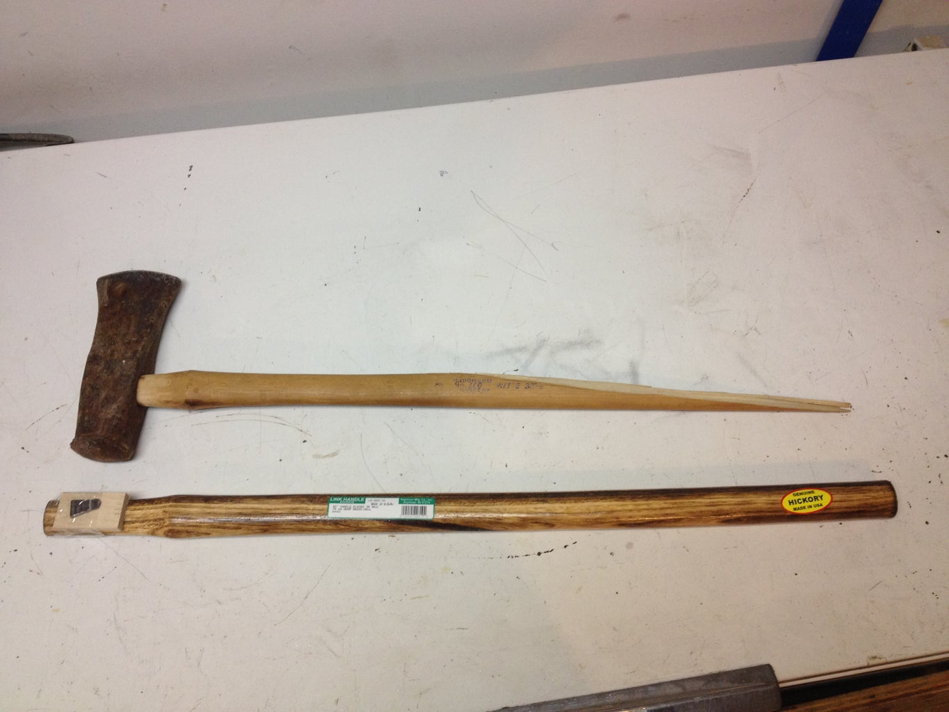 How to Re-handle an Axe...