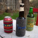 Felted Recycled Beverage Coozie