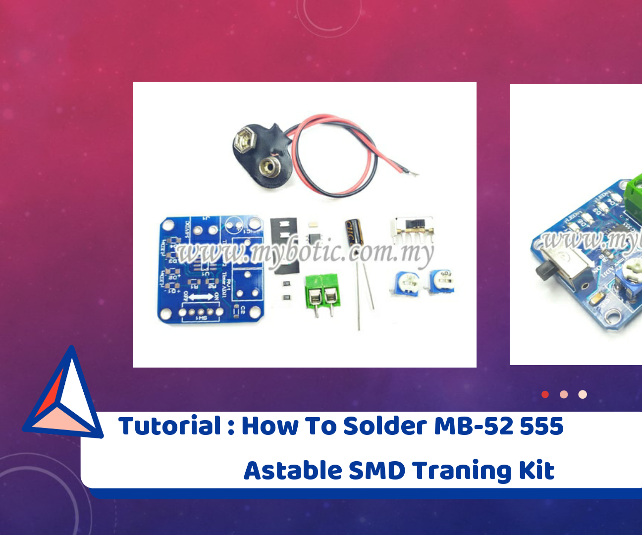 Tutorial: How to Solder SMD or Surface Mount Components (MB-52 555 Astable SMD Training Kit)