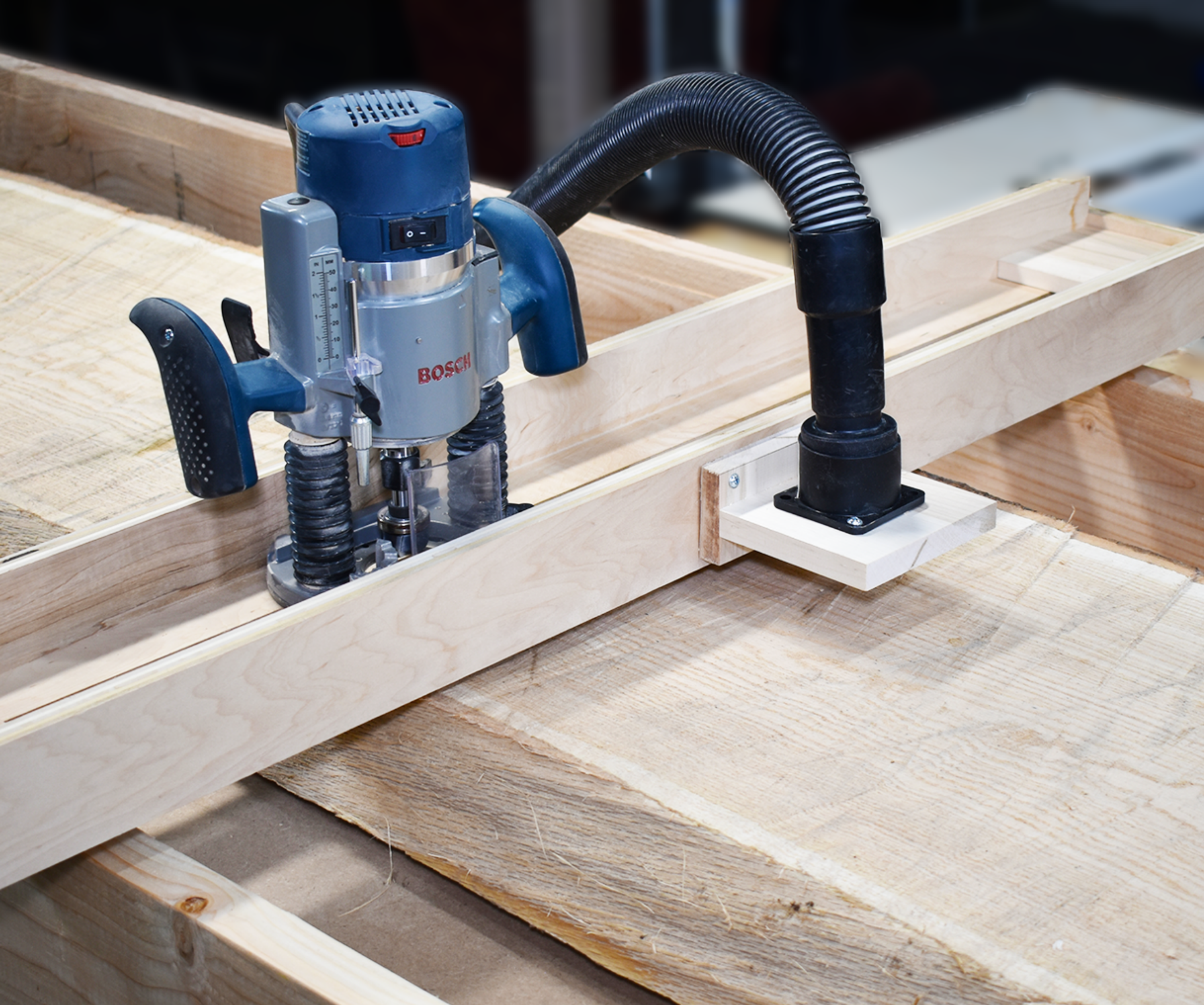 Chainsaw Mill Slab Router Sled