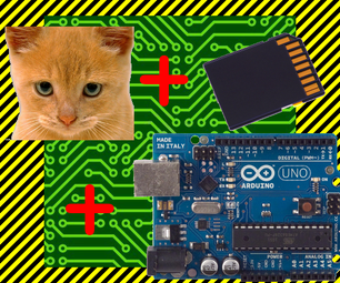 Arduino Cat Detector SD Card Logger