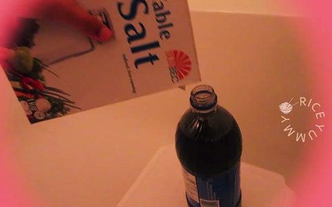 Pour Salt in Cola