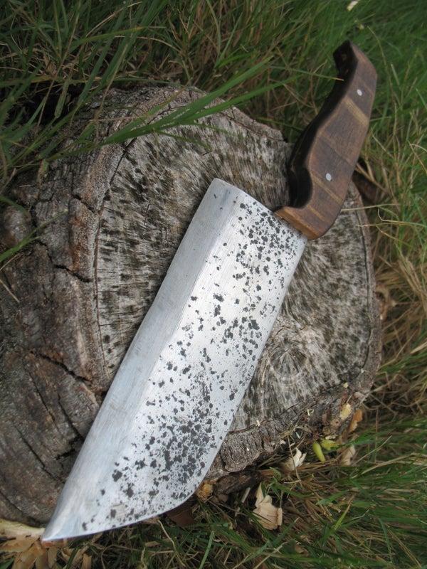Process of Making a Scrap Knife