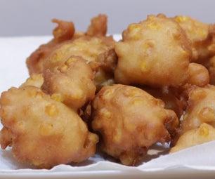 轻松玉米炸薯条