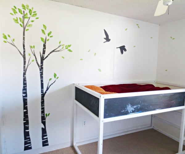 Children's Room Forest Wall Art