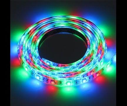 RGB led+VB.Net+Microcontroller