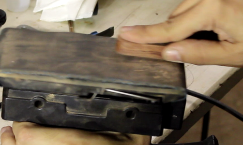 Making the Bevel Body - III (inlay Banding and Final Sanding)