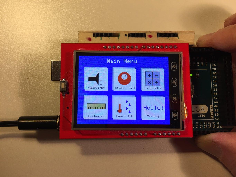 BluBerriSix - a TFT TouchScreen / Arduino Tutorial