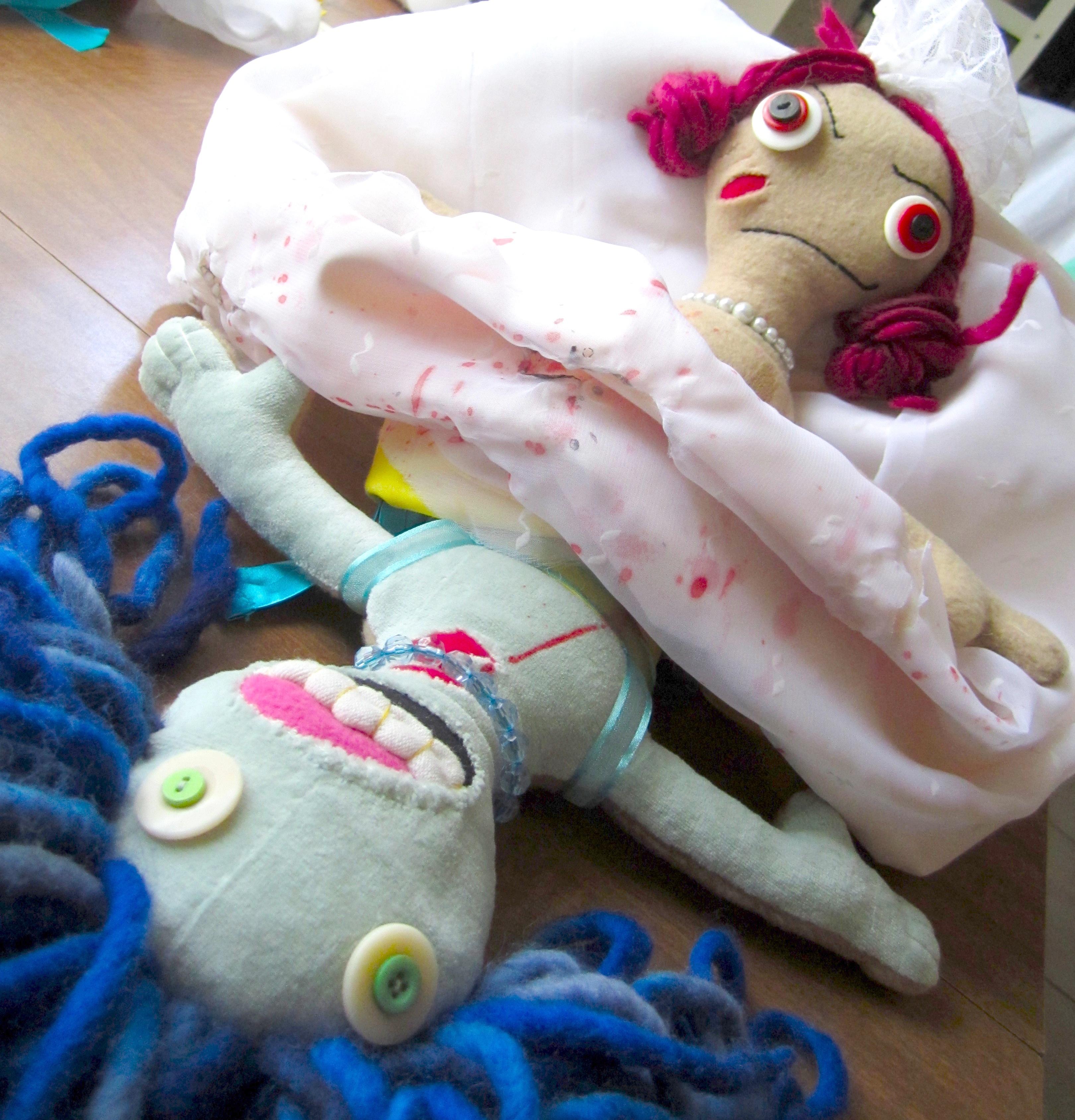 Zombie Story - Topsy Turvy Doll