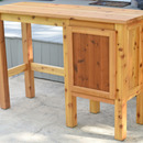 Bar Height Patio Table