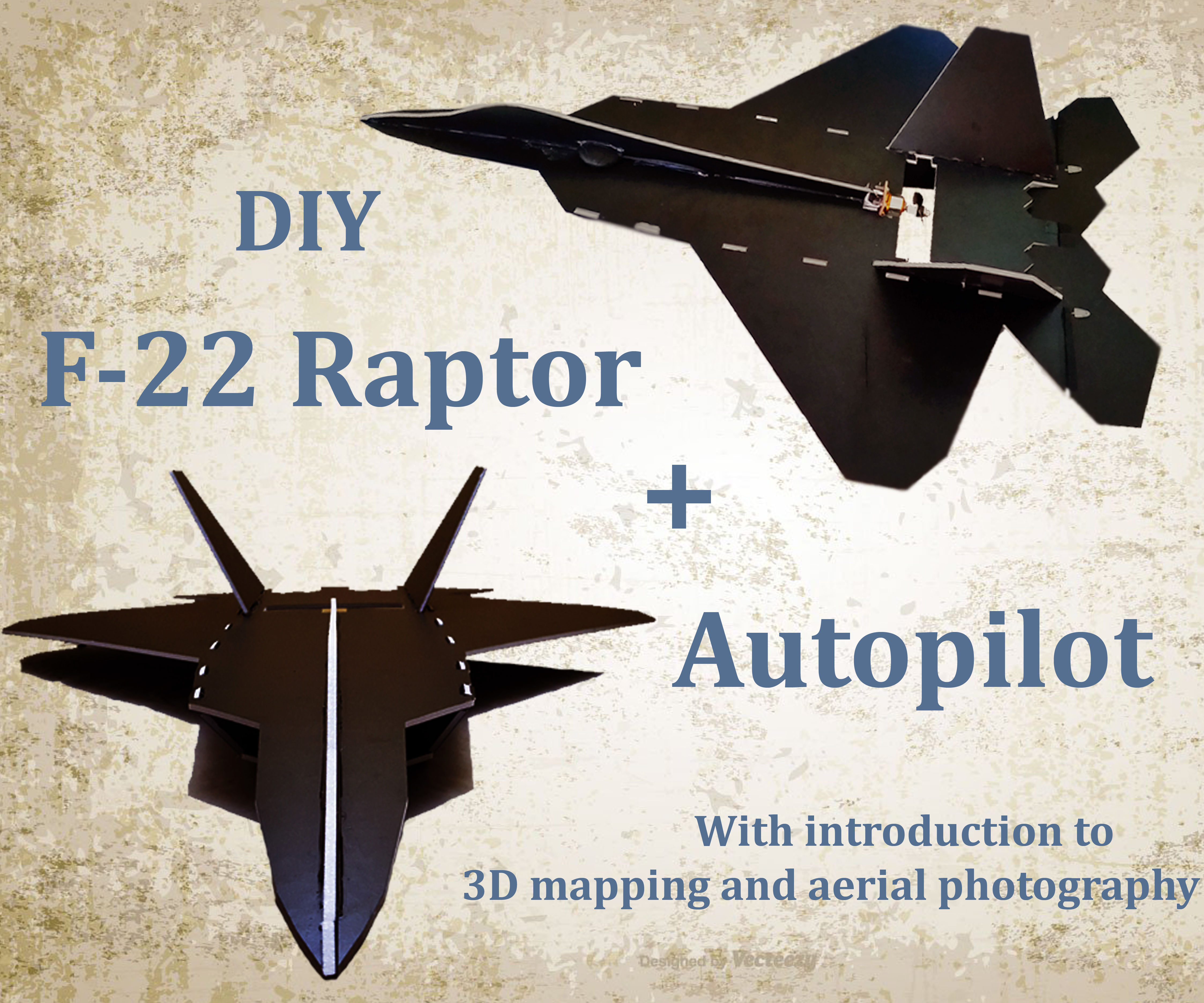 F22 Raptor with Autopilot