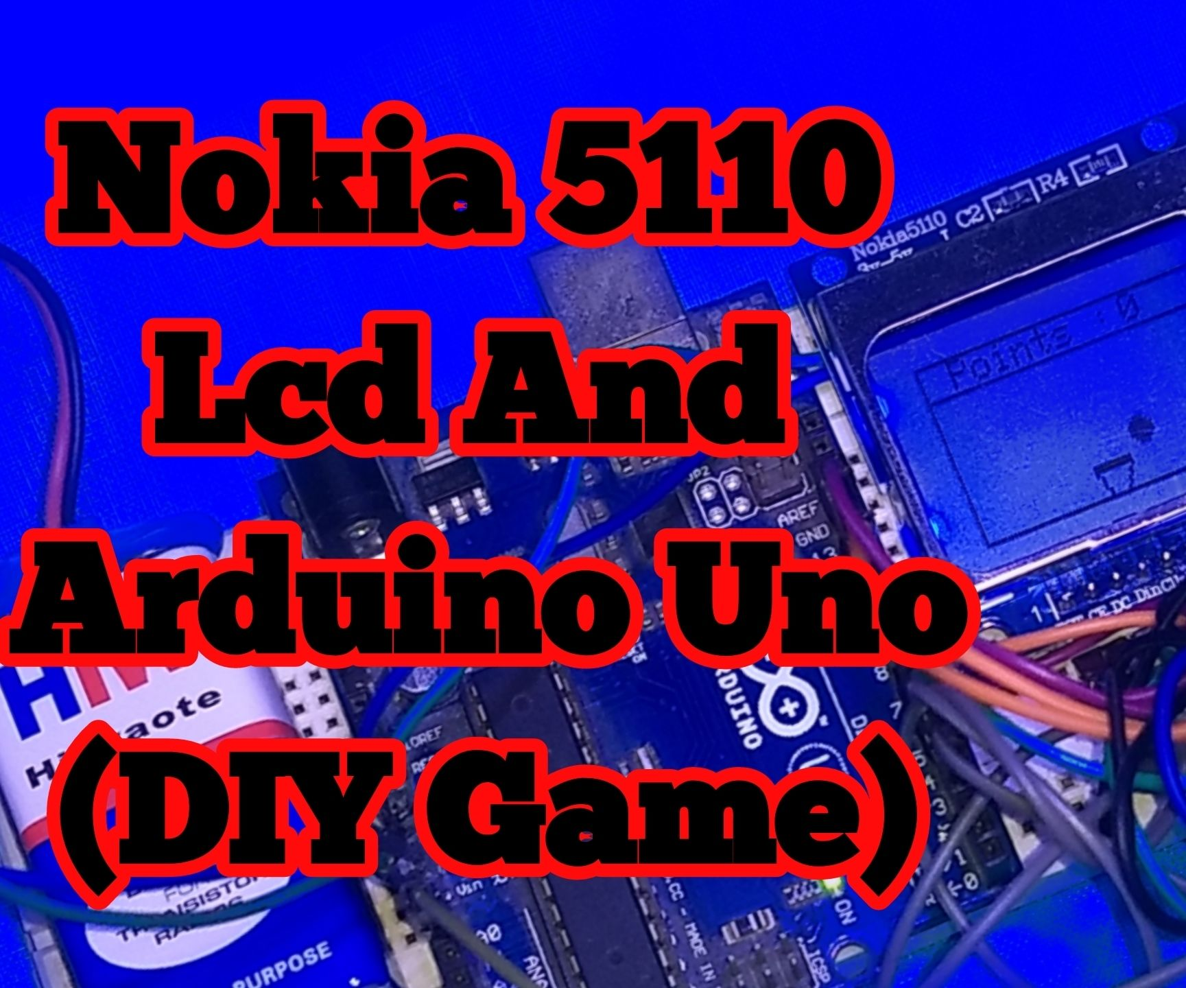 Diy Game Using Arduino and Nokia 5110 Lcd