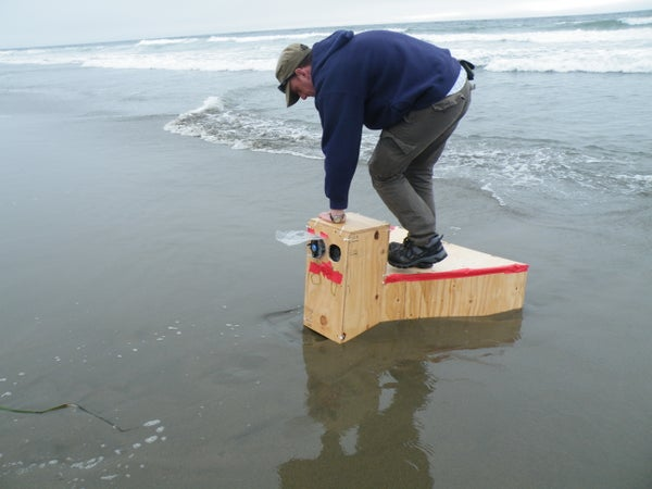 Small-scale Wave-power - Free Energy From the Beach!