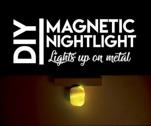 如何制作磁夜灯蛋