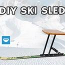 DIY Ski Sled - Plezuh