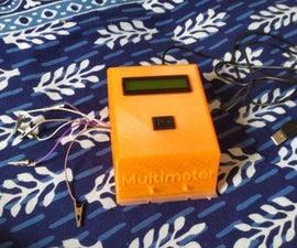 Arduino Powered Multimeter