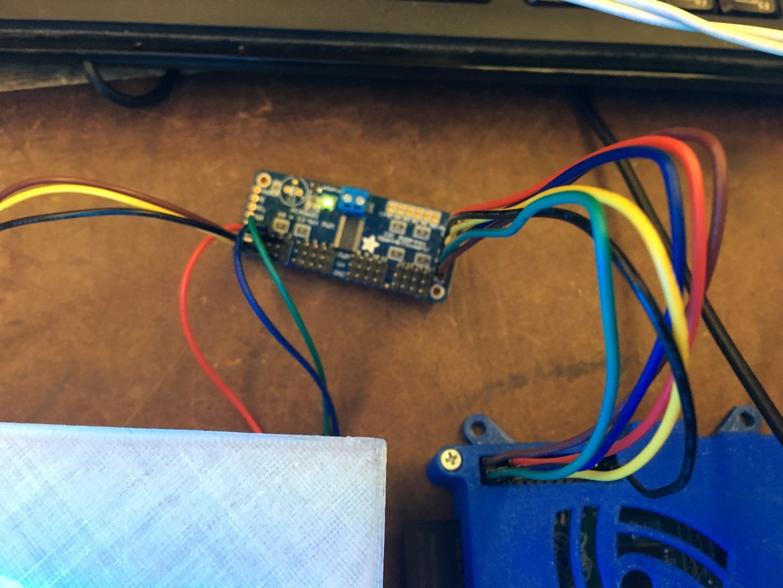 Connect Adafruit Board to Raspberry Pi