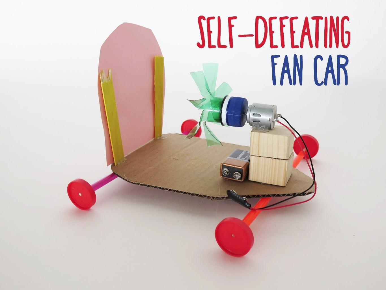 Self-Defeating Fan Car