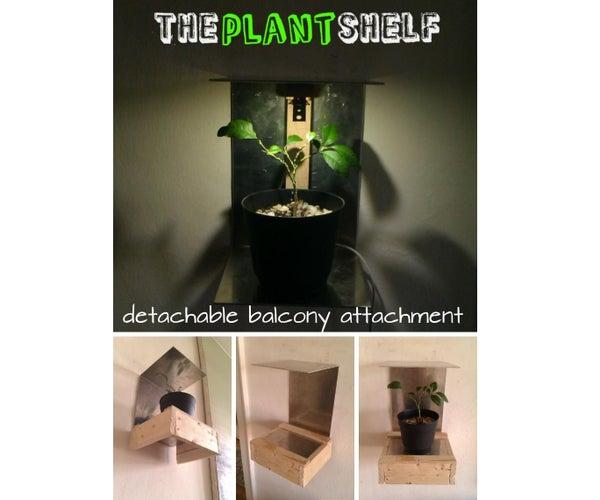 The Plant Shelf - Balcony Attachment