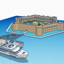 Fort Jefferson/ Dry Tortugas National Park - Tinkercad Version!