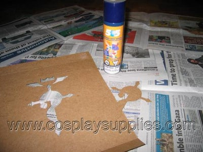 Stencilling, Step Two