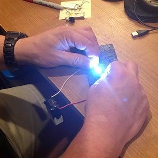 Make Your Own LED Light Bulb Tester From 9V Battery!