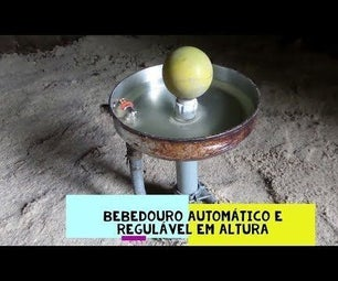AUTOMATIC DRINK FOR BIRDS