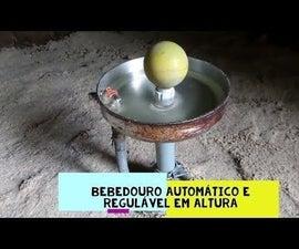BEBEDOURO AUTOMÁTICO PARA AVES