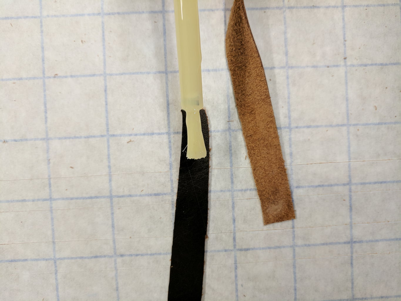 Add the Leather Grips to the Ringblades