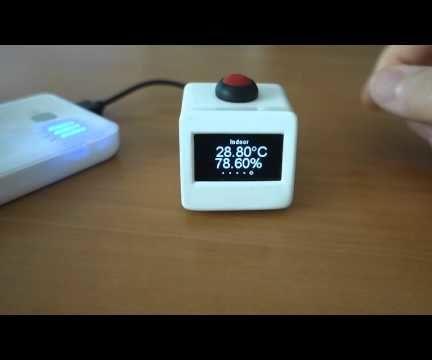 Minitaure Weather Station - ESP8266