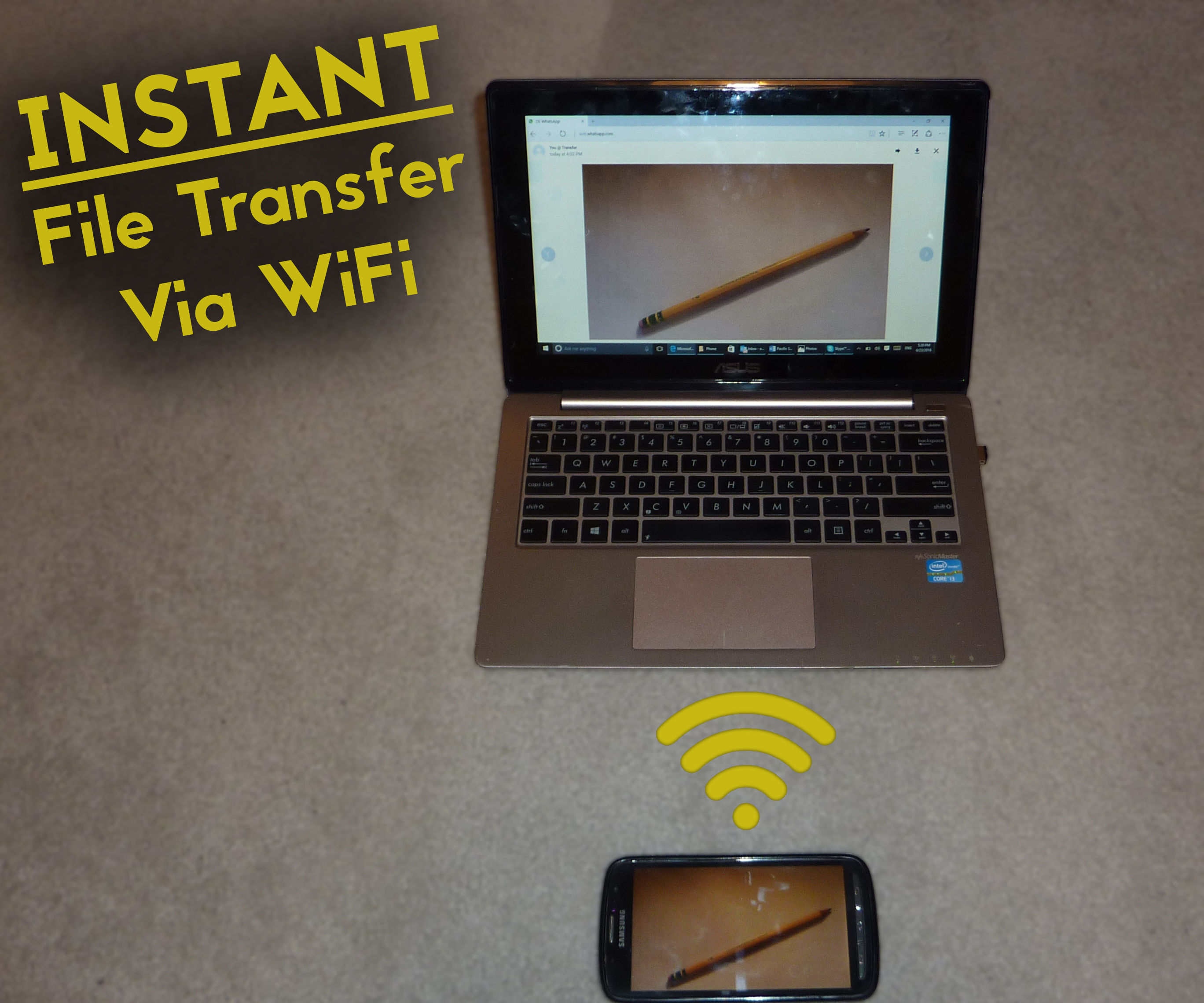 How to Instantly Tranfer Images Over Wi-Fi