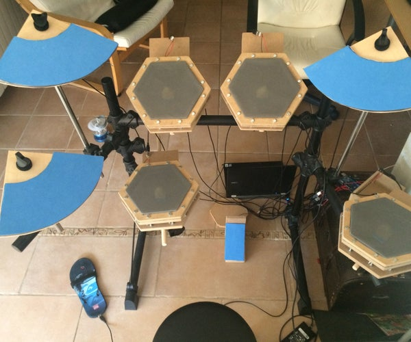 Homemade Electronic Drum Kit With Arduino Mega2560