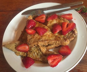 Sweet French Toast for One