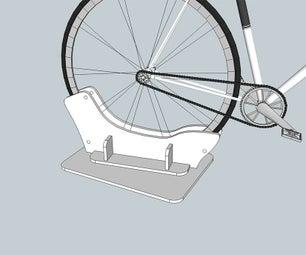 Bike Holder Inside of Car Trunk