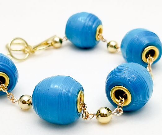 How to Make a Wide Euro Paper Bead