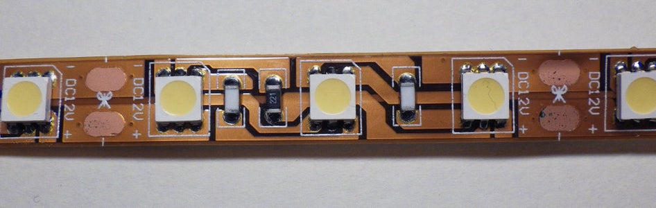 Remote Controlled LED Ribbon