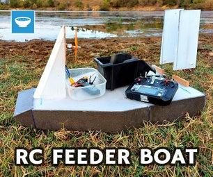 建立一个RC饲养者气船钓鱼