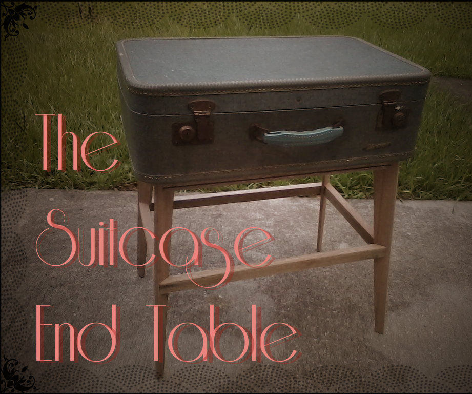 The Suitcase End Table