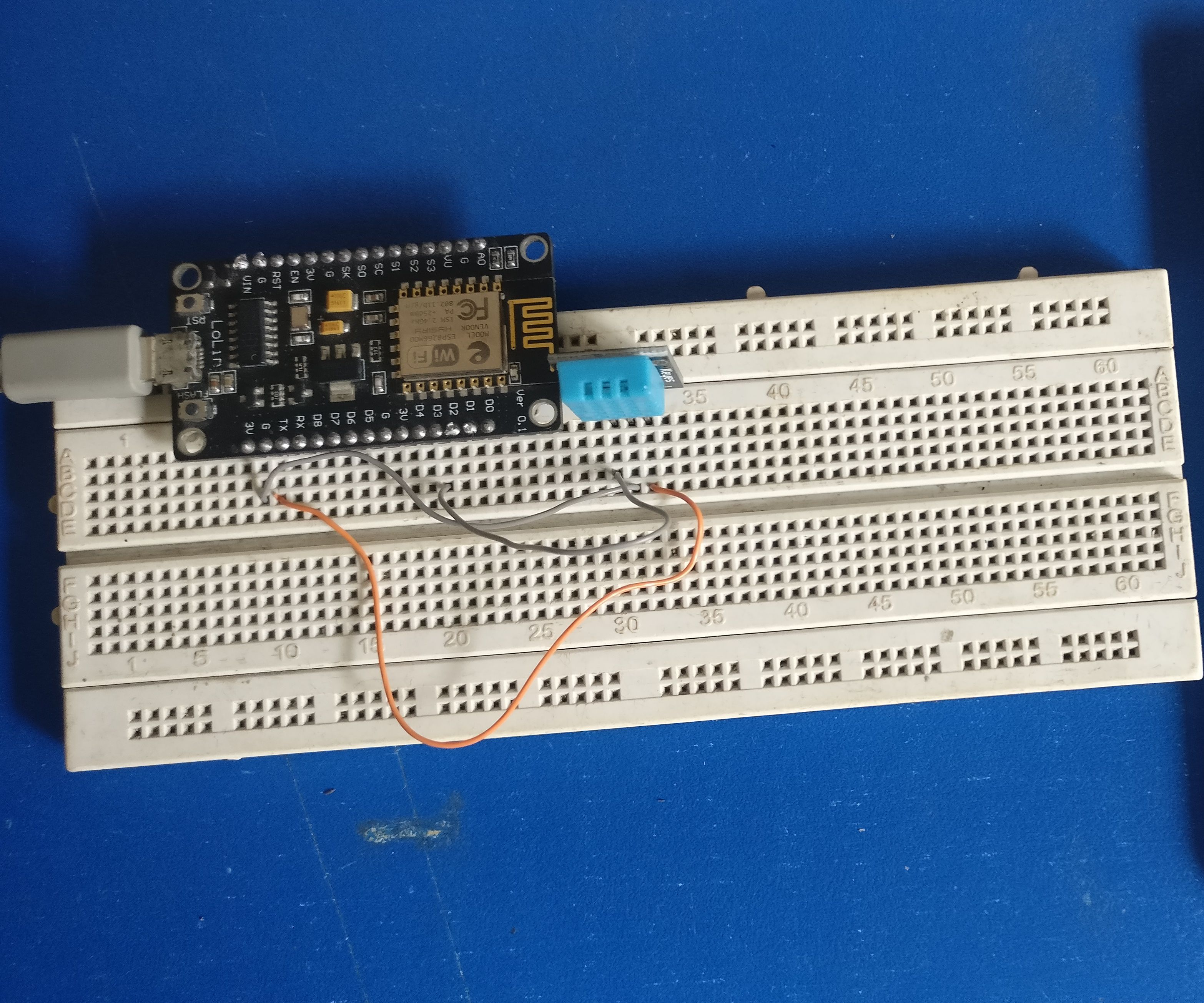 IoT Weather Station Using ESP8266 Board